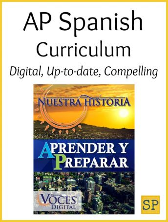 This complete digital AP Spanish curriculum prepares students for the Advanced Placement exam.
