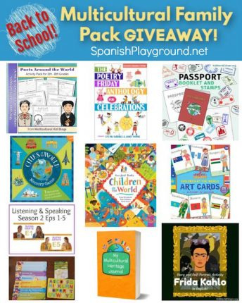 Multicultural products for classroom or home include books, printable activities and games.