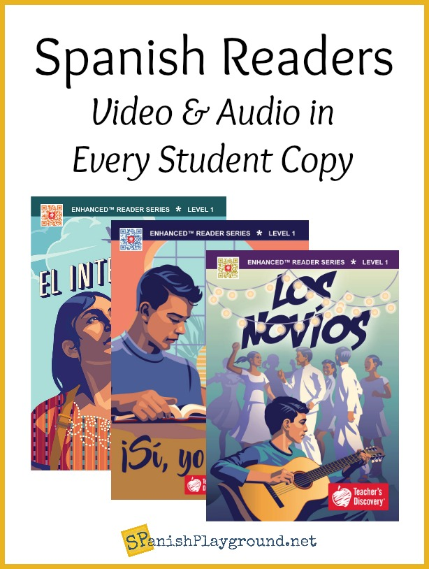 Spanish reading texts for beginning learners.