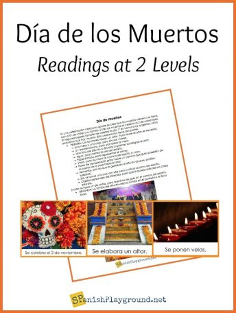 Use these two Day of the Dead readings for Spanish students to introduce them to the traditions of Mexico.