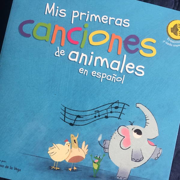These Spanish song books have built in music so children can listen and sing along.