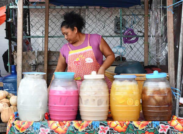 Agua fresca is a typical Mexican drink that is easy to make.