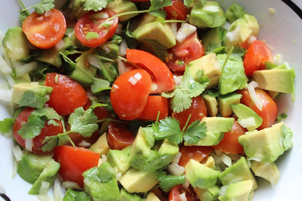 This guacamole is an authentic food you can take to Spanish class.