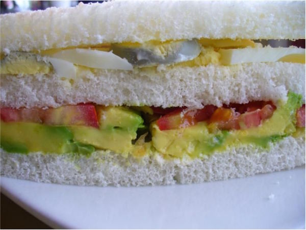 This Peruvian sandwich is easy to make and take to class.