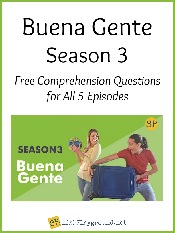 Buena gente is a Spanish series for language learners.