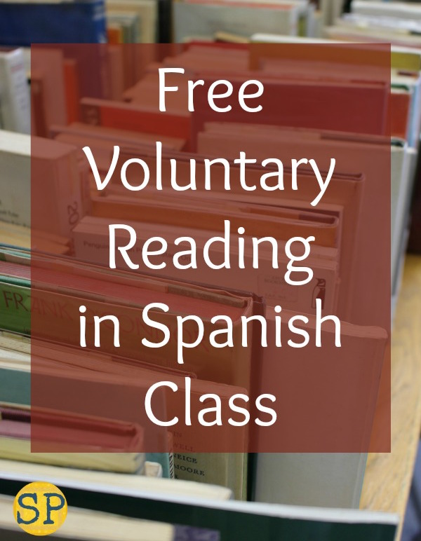 Free Voluntary Reading books for the Spanish language classroom.