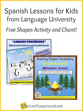 These activities are part of the Spanish classes for kids taught by Language University.