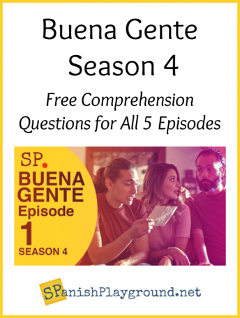 These actors appear in the Learn Spanish Series Buena Gente S4.