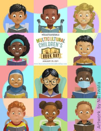 Official poster of Multicultural Childrens Book Day