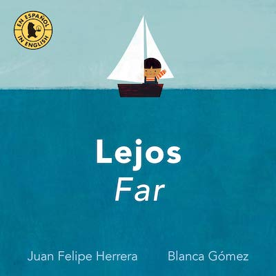 Cover image of ward-winning Latino picture books for Spanish learners.