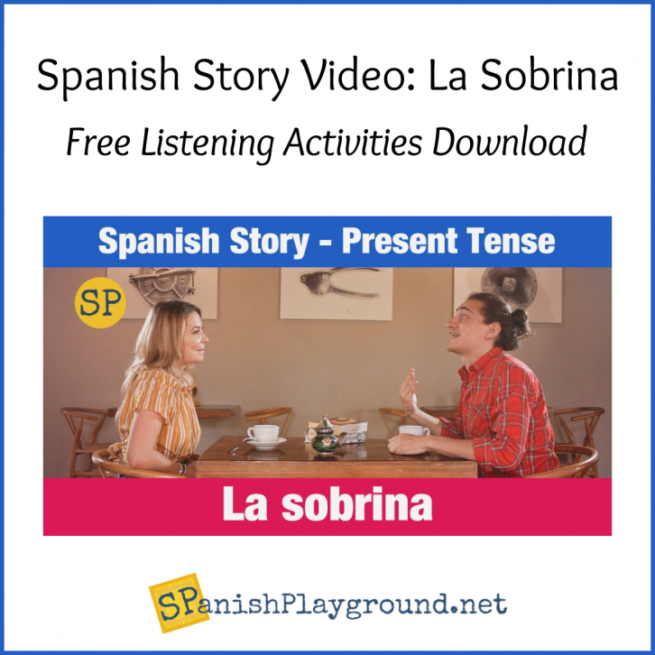 Image of the actors in the Spanish story video.