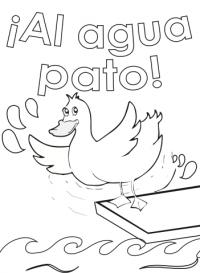 spanish proverbs pato BN