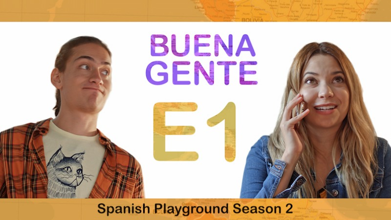 Listening Activities for the Spanish video series Buena Gente S2 E1.