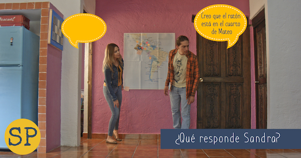 Use these speech bubble photos as listening and speaking activities for Season 2 of Buena Gente.