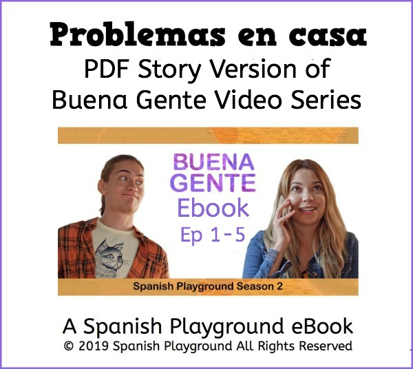 Use this Buena Gente ebook in conjunction with the video series.